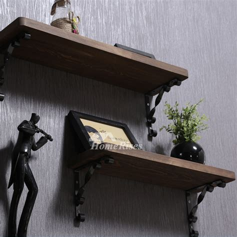 contemporary wooden shelves contemporary wall shelves wooden ledges decorative rustic