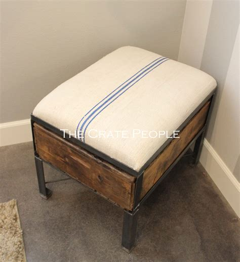 how can a be in a crate single crate ottoman the crate