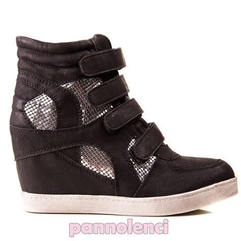 sneakers tacco interno sneakers donna scarpe ginnastica zeppa tacco interno
