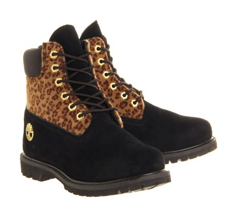 black timberland boots for timberland premium 6 boot in black lyst