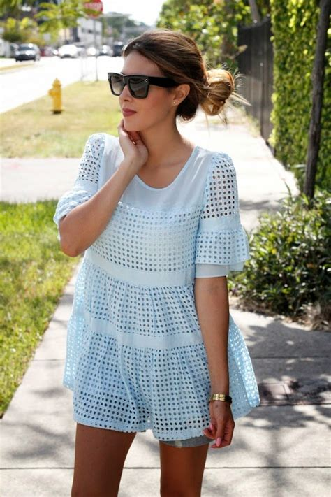 Trends For Summer Eyelet Accents When You Just Cant Commit Second Cty Style Fashion Second City Style 4 the eyelet fashion trend is all the rage just the design