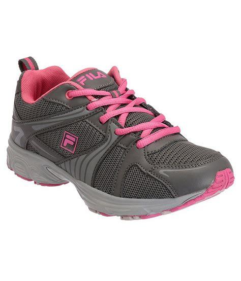 fila gray sports shoes price in india buy fila