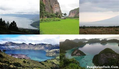 wallpaper alam paling indah gambar pemandangan indah di indonesia gambar c