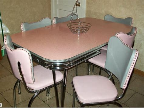 Best Fabric To Reupholster Kitchen Chairs by Reupholster 1950s Dinette Chairs Affordably Retro Renovation