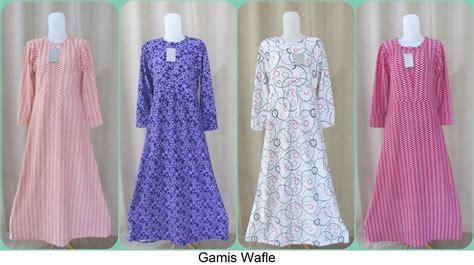 Grosir Murah Baju Kirana Dress Wafle Kiyosi new baju tidur anak bahan korea