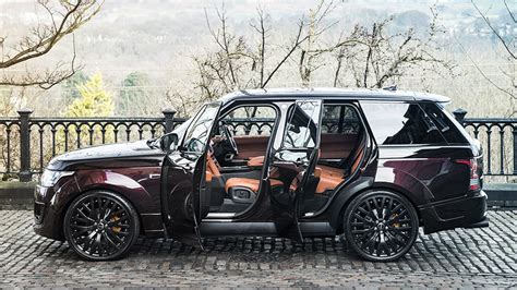 jeep range rover 2016 kahn design shows off two very bespoke range rovers