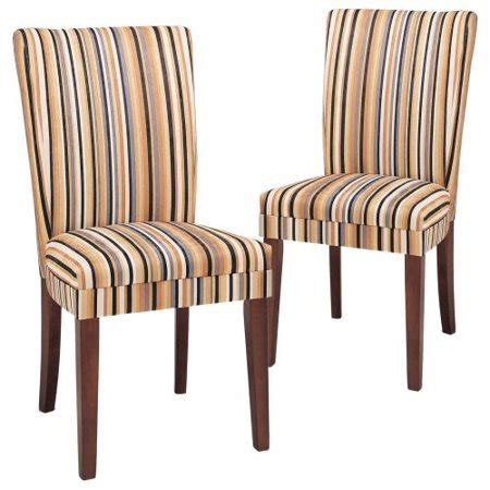 Dining Chair Ac 101 striped parsons chairs set of 2 walmart