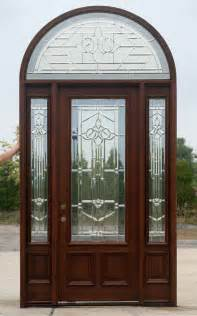 Exterior Door With Transom Front Entry Doors With Side Lights And Transom In