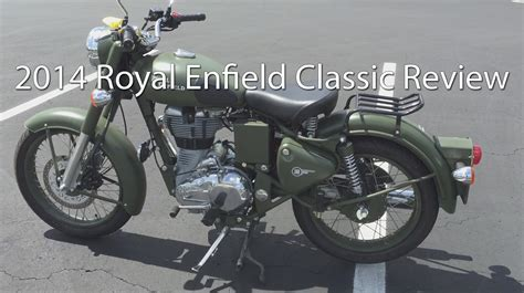 2014 Royal Enfield Bullet Classic C5 Military Motorcycle