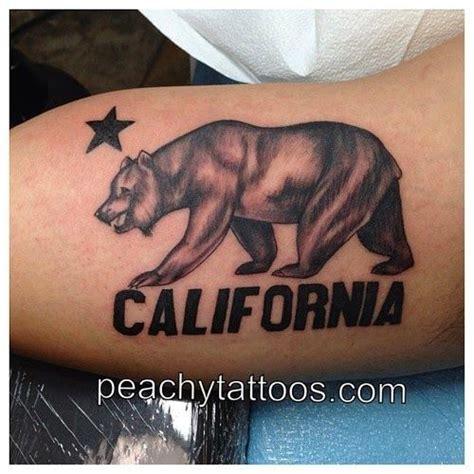 california flag tattoo the 25 best california bears ideas on