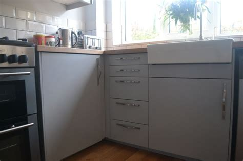 Ikea Veddinge by My Completely Renovated Kitchen With Ikea Veddinge Grey