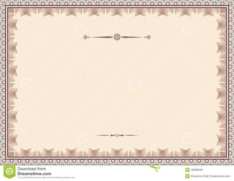 certificate design background certificate background vector illustration cartoondealer