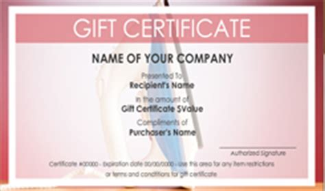 template for gift certificate for services house cleaning service gift certificate templates easy
