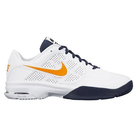 nike mens air courtballistic 4 1 tennis shoes white