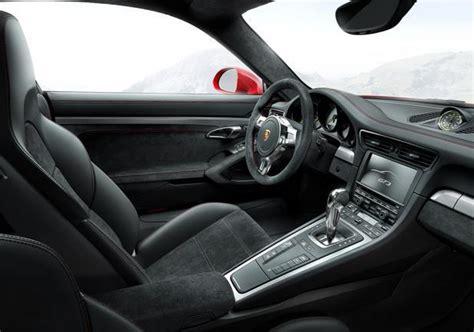 porsche 911 interni foto nuova porsche 911 gt3 interni