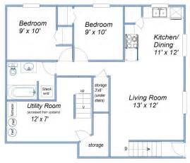 600 Sq Ft by 600 Sq Ft Basement Suite