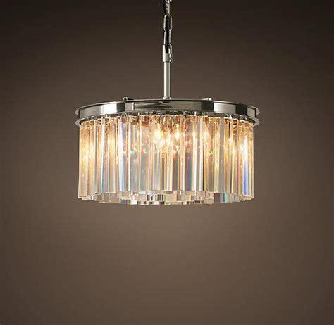 glass prism chandelier glass prism chandelier italian murano spiral glass prism