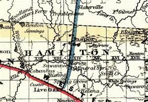 hamilton county florida map hamilton county 1882