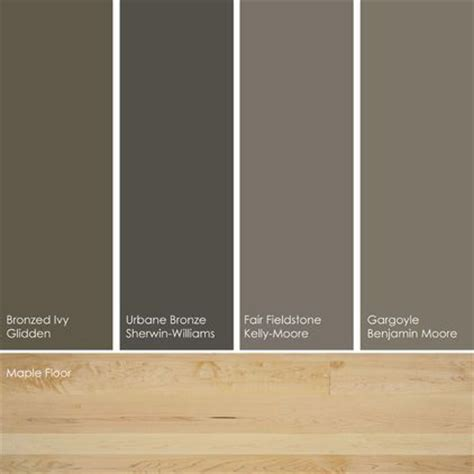 17 best images about paint colors with floors on maple floors revere pewter