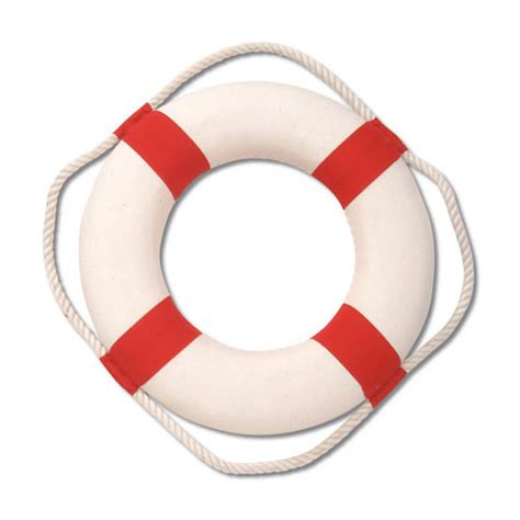 10 quot life ring buoy red white nautical wall decor
