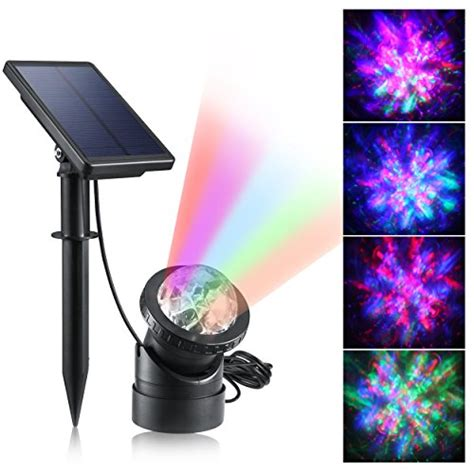 Underwater Solar Pond Lights Creative Design Multicolored Submersible Led Lights Solar