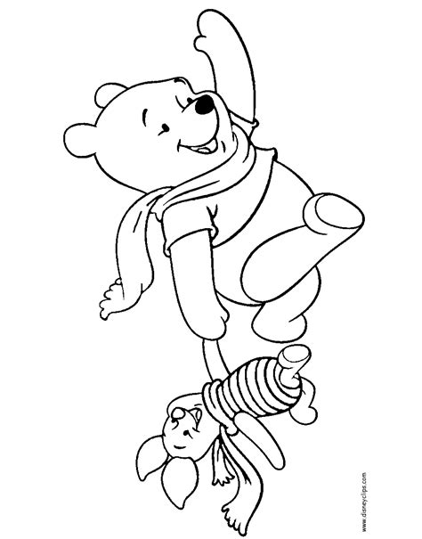 winnie the pooh and friends printable coloring pages 2