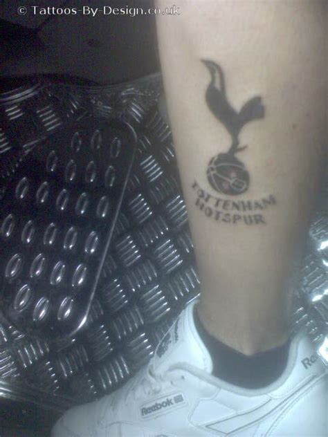 tattoo of us tottenham spurs badge tattoo