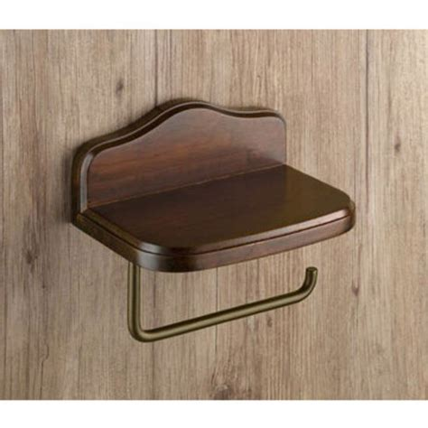 toilet paper holder wood nameeks wall mounted wood toilet paper holder with cover