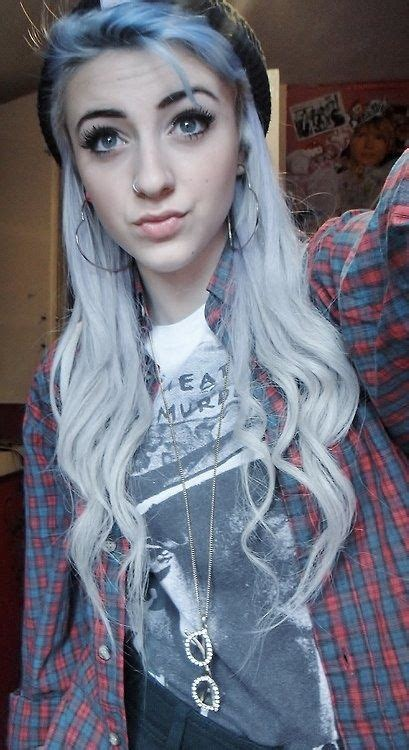 silver blue long hair pictures photos and images for facebook 17 best images about perfect girl on pinterest her hair