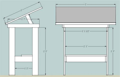 Drafting Table Dimensions Drafting Table Final Flickr Photo Sharing
