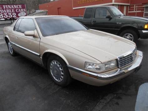 how can i learn about cars 1994 cadillac eldorado transmission control buy used 1994 cadillac eldorado base in 3700 kellogg ave cincinnati ohio united states for