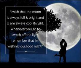 romantic good night messages for boyfriend