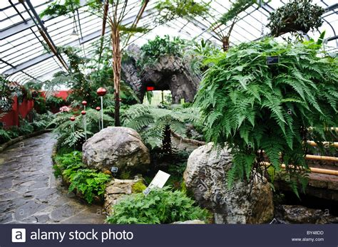 Largest Botanical Gardens In The World Inside Montreal S Botanical Garden One Of The World S Largest Indoor Stock Photo Royalty Free