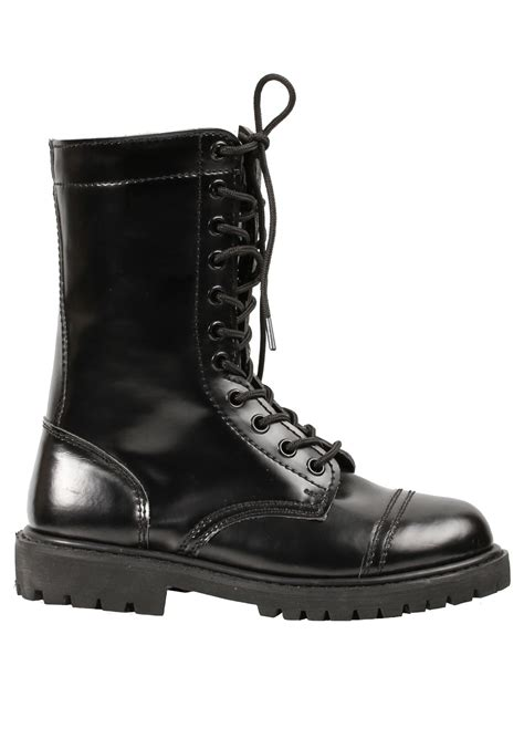 womans combat boots womens black combat boots ebay