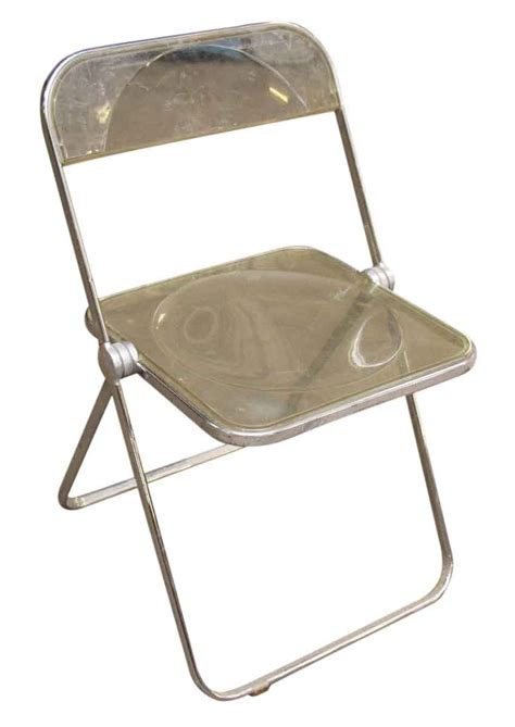 Folding Lucite Chairs - 1970s lucite folding chairs olde things