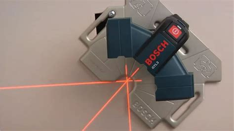 laser for layout bosch wall and floor layout laser gtl3 youtube