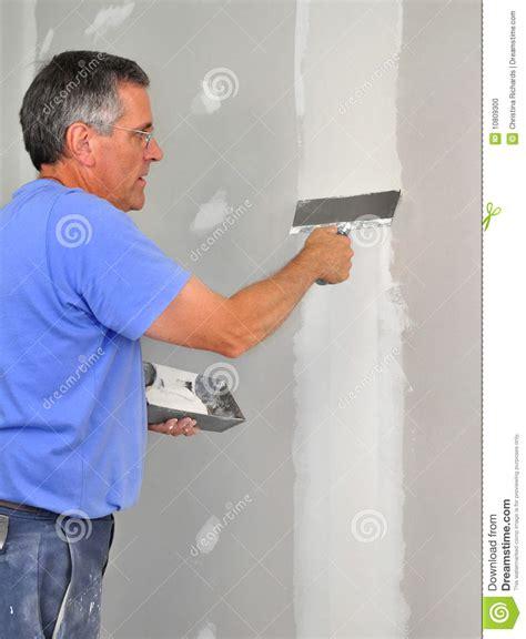 Finishing Sheetrock Finishing Drywall Stock Photo Image 10809300