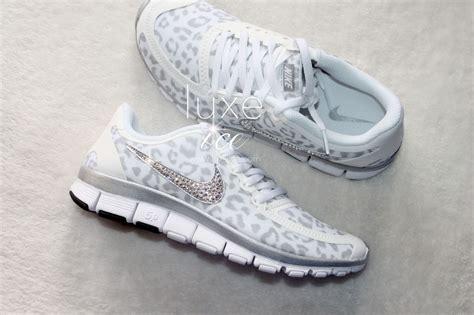 nike cheetah sneakers nike run free 5 0 v4 shoes w swarovski crystals cheetah