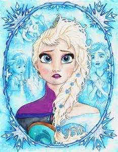 drawings of elsa from frozen frozen elsa by barbaramj on deviantart