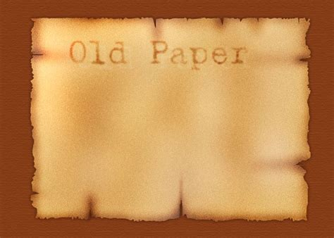 tutorial photoshop old paper make a realistic old burnt paper piece in photoshop tutorial