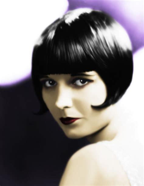 louise brooks haircut louise brooks fangirling film music tv pinterest