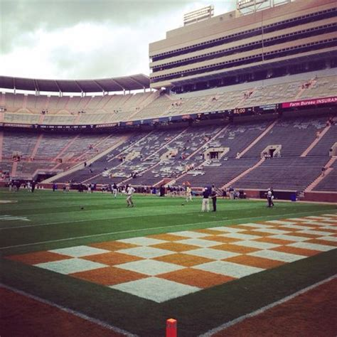 neyland stadium student section view from student section picture of university of