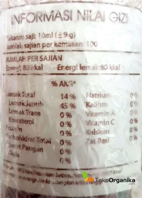 Minyak Kelapa Murni Di Apotik detil produk minyak kelapa murni 1000ml
