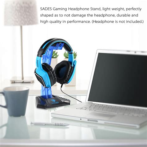 Sades Universal Gaming Headphone Hanger sades universal gaming headphone hanger blue jakartanotebook