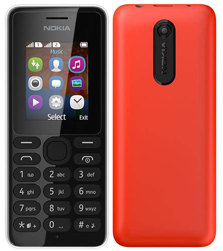 Nokia 107 Dual Sim nokia 107 and 108 dual sim now available in india for rs 1607 and 1883 bring month