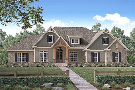 craftsman style house plans awesome arts and crafts house