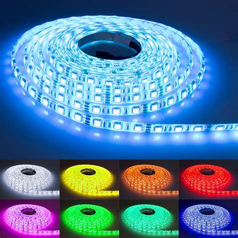 led lichter kaufen 5m rgb led e leiste streifen smd band lichter licht