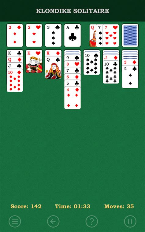 free solitaire for android klondike solitaire free android apps on play