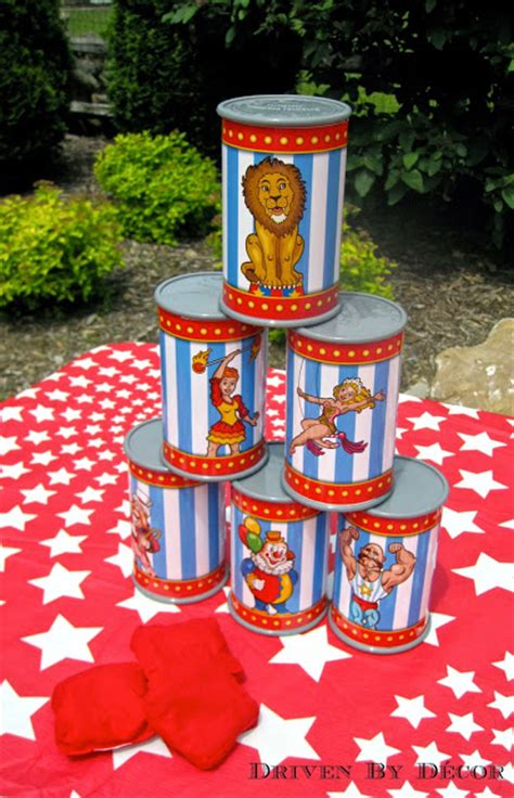 circus themed games a carnival circus themed birthday party driven by decor