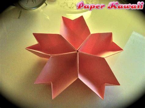 Origami Cherry - origami maniacs origami cherry blossom dish